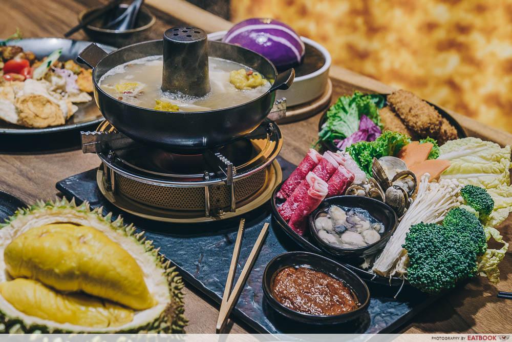 Durian Hotpot Shopback - $1 Durian Hot Pot