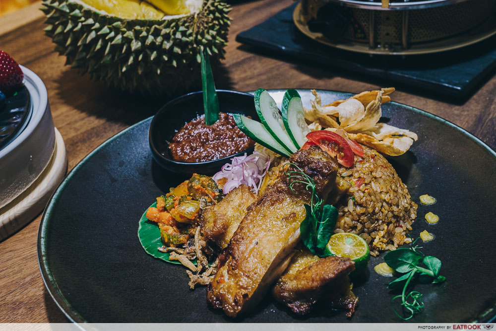 Durian Hotpot Shopback - Kampung Mao Shan Wang Durian Fried Rice