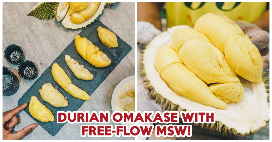 Durian Omakase - Cover Image
