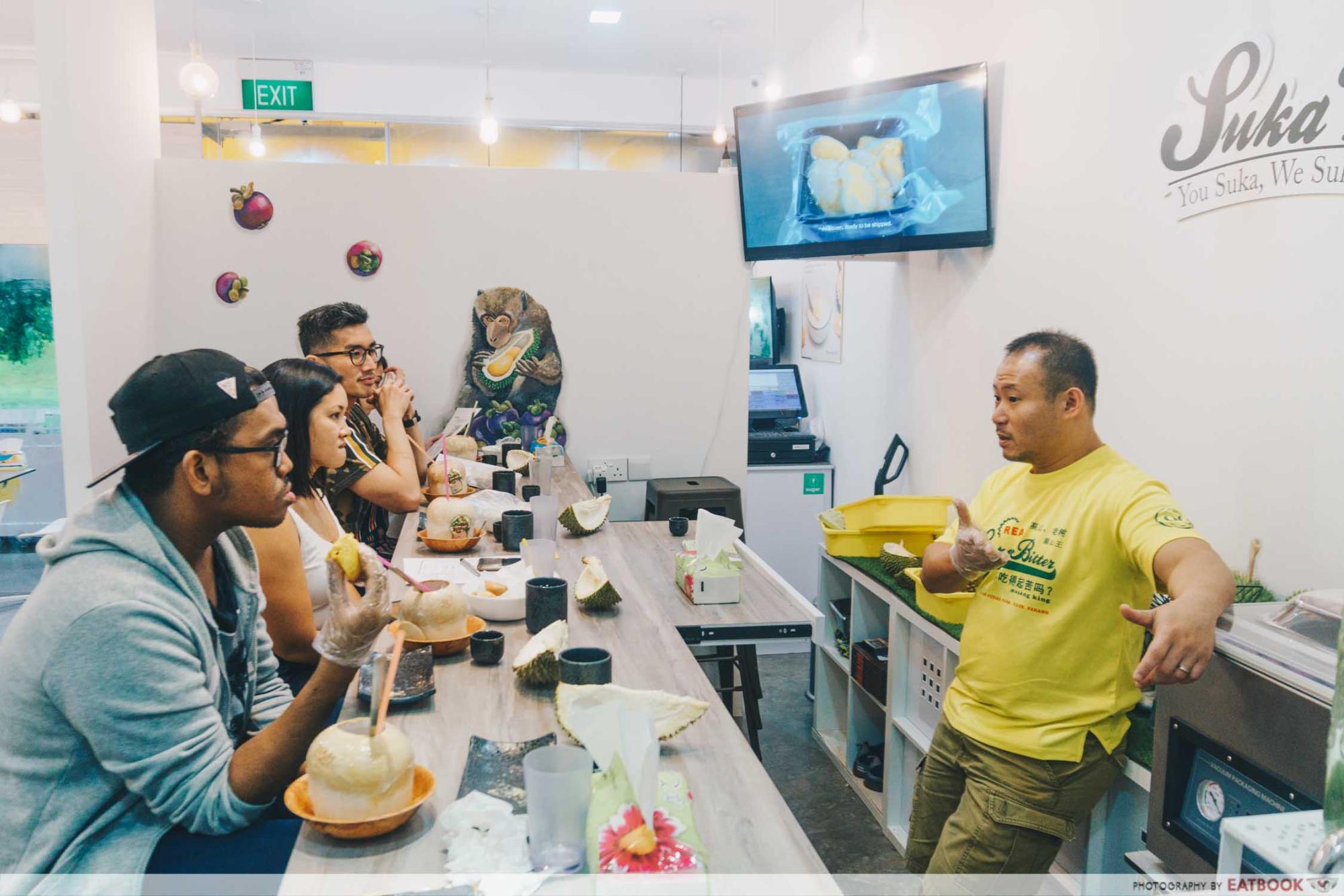 Durian Omakase - Kelvin Tan