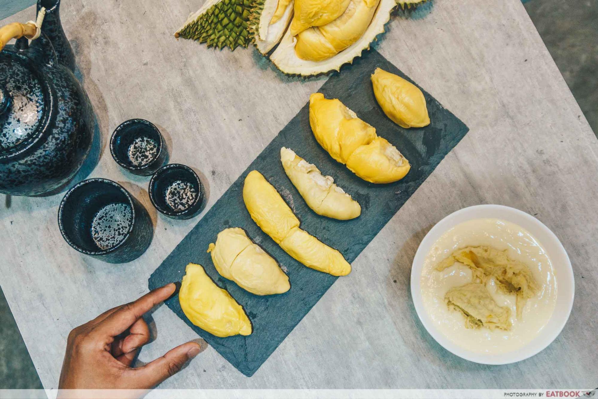 Durian Omakase - Menu