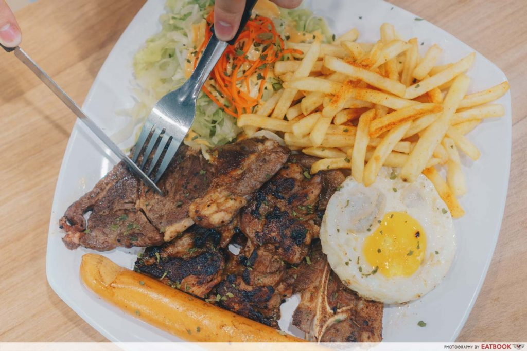Fusion Western mixed grill 2