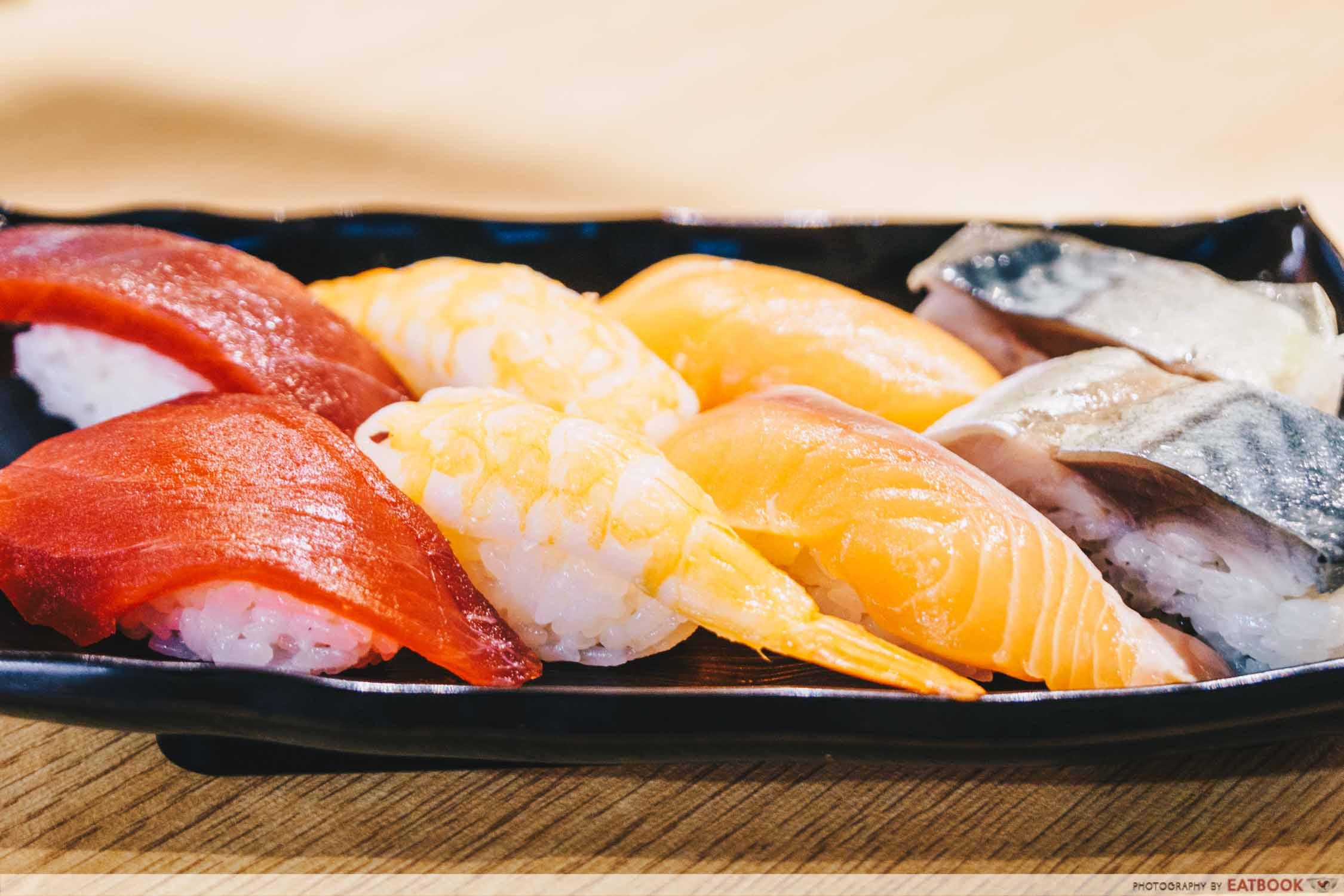 Gochi - platter of sushi