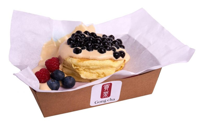 Gong Cha Boba Souffle Pancakes Shihlin