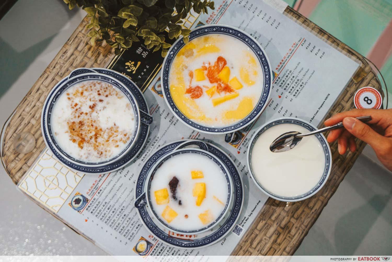Jin Yu Man Tang Dessert Shop - Flatlay