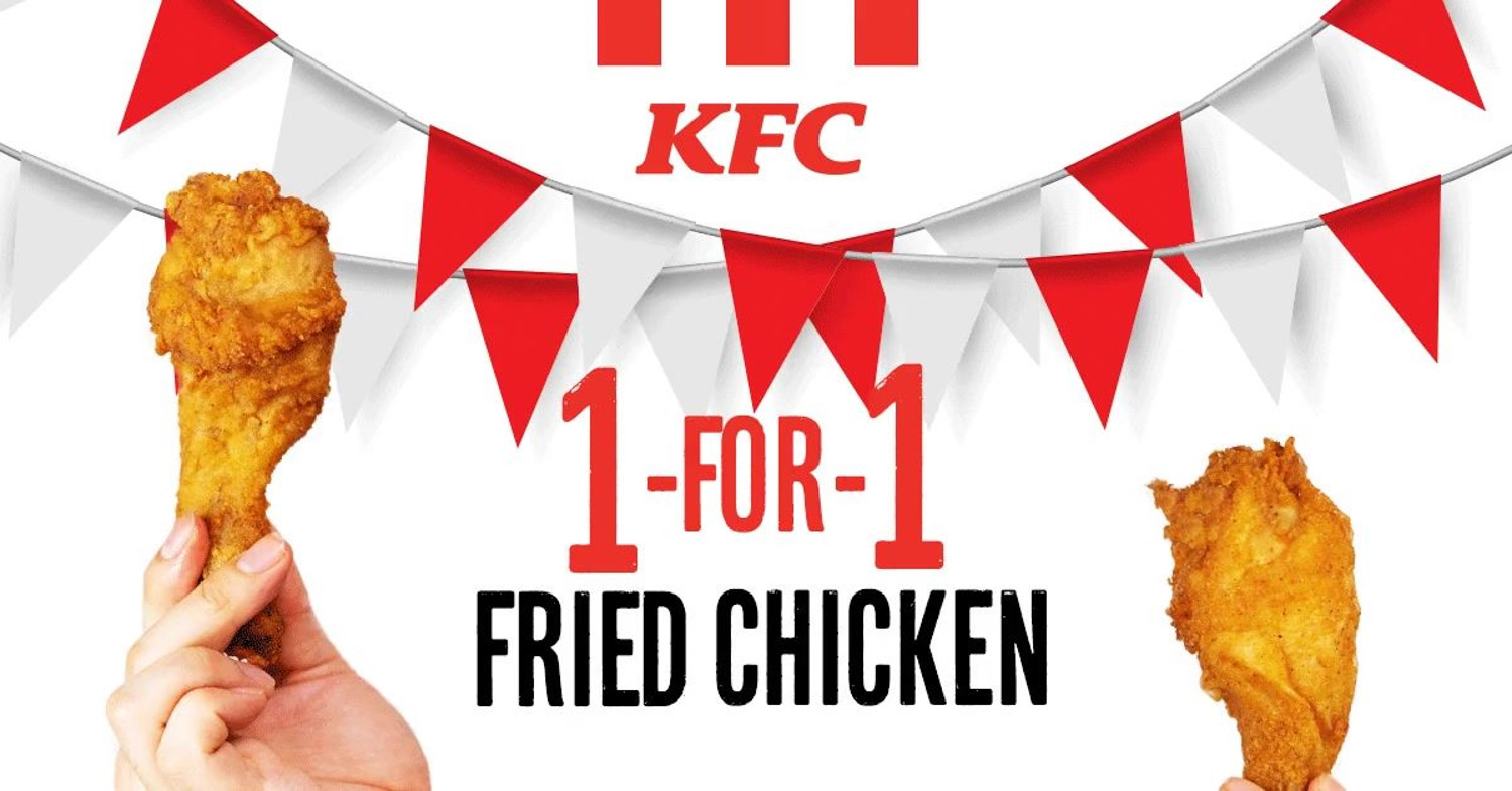 KFC 1-for-1 - Introduction
