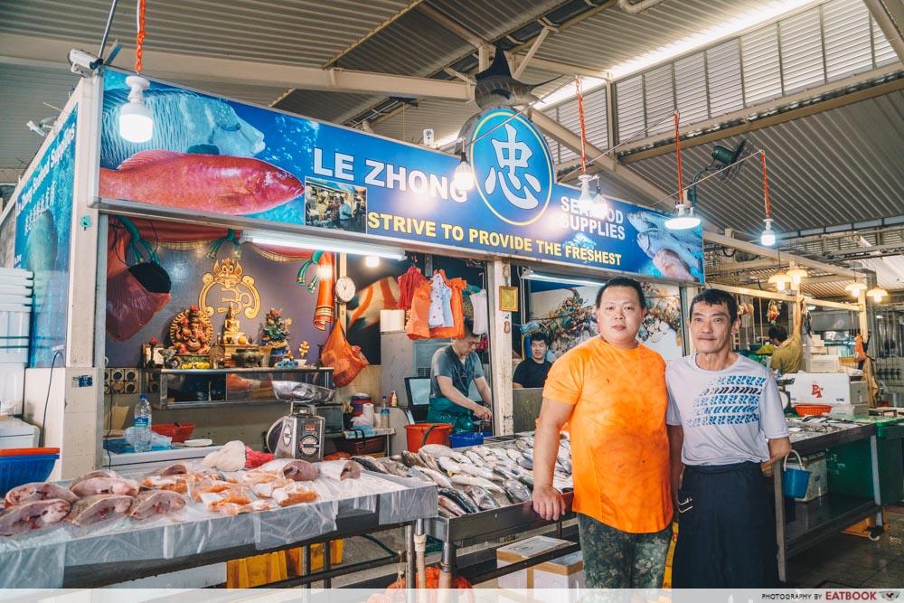 Luck Xiao Chao - Fishmonger