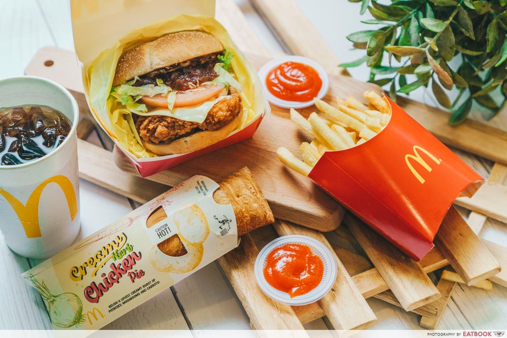 McSpicy Deluxe - Extra Value Meal