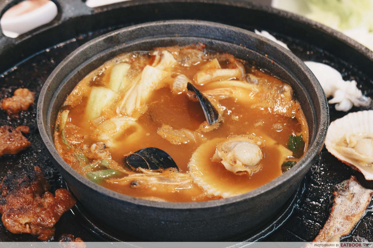 Michin Korean BBQ And Hotpot kimchi soup base