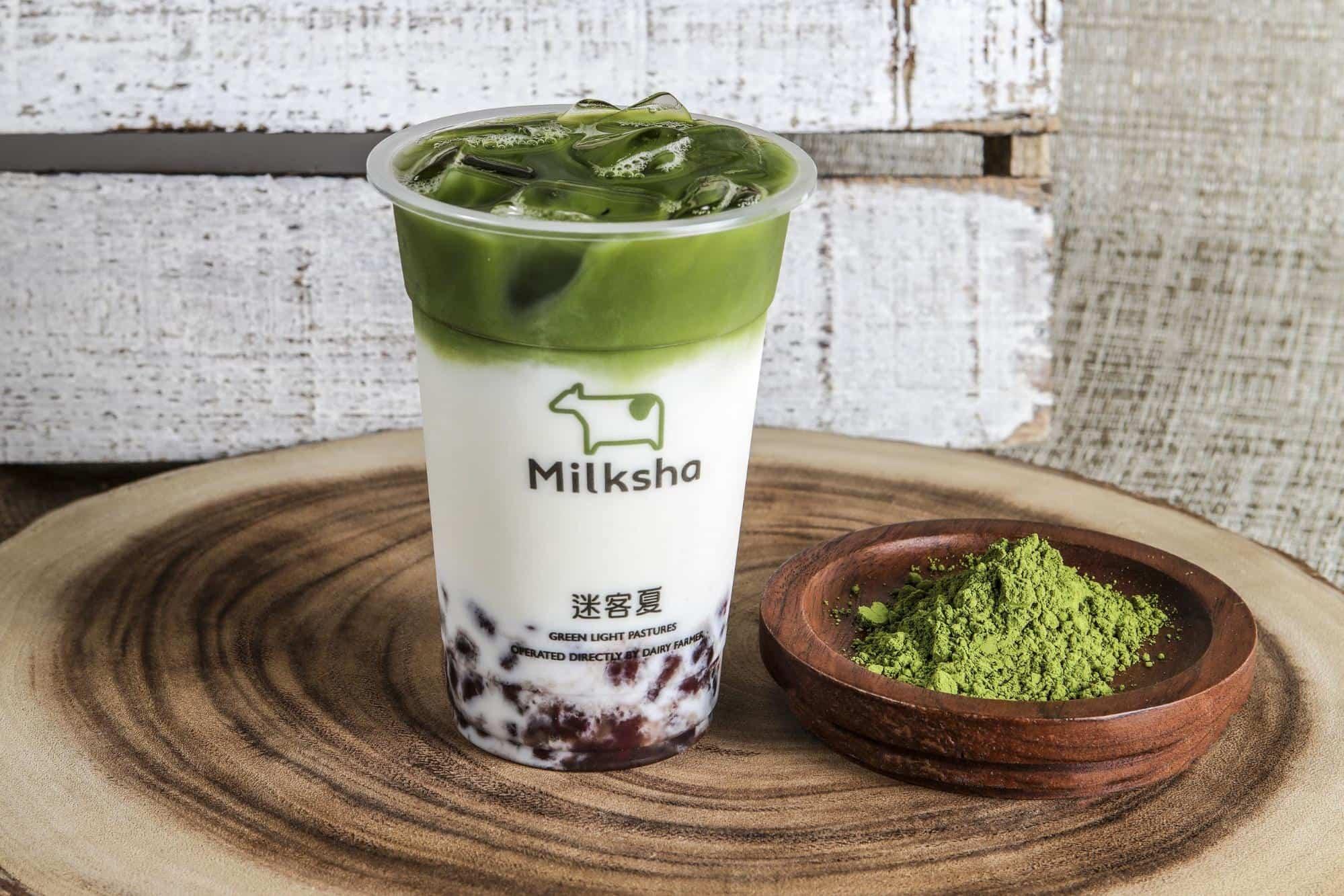 Milksha Singapore - Azuki Matcha