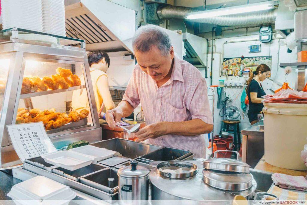 Mr Ho Tutu Kueh boon keng market