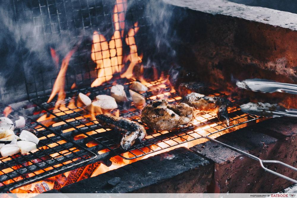Nsquared Barbecue - barbecue grill