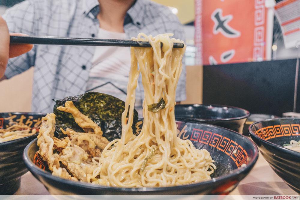 Takagi Ramen - Salted Egg Noodle Pull