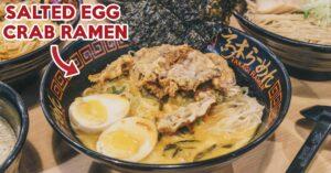 Takagi Ramen - Salted Egg Yolk Crab