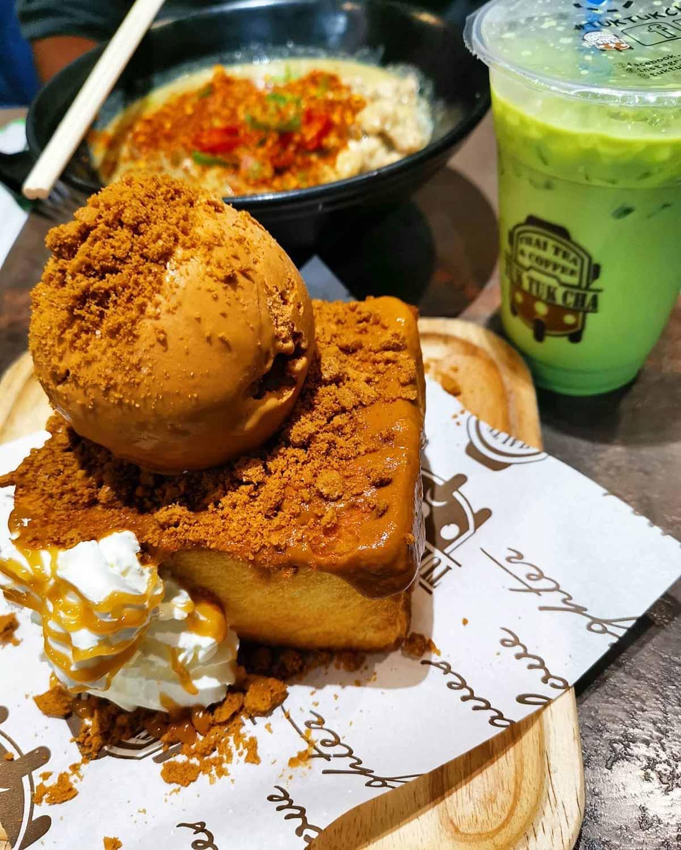 Tuk Tuk Cha Milk Tea - Shibuya Toast