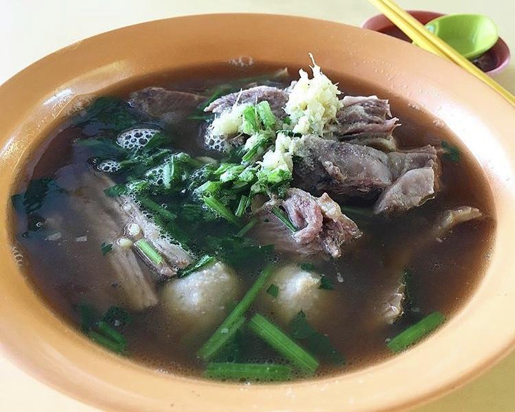 Bukit Merah View Market - Chai Chuan Tou Yang Rou Fan Mutton Soup