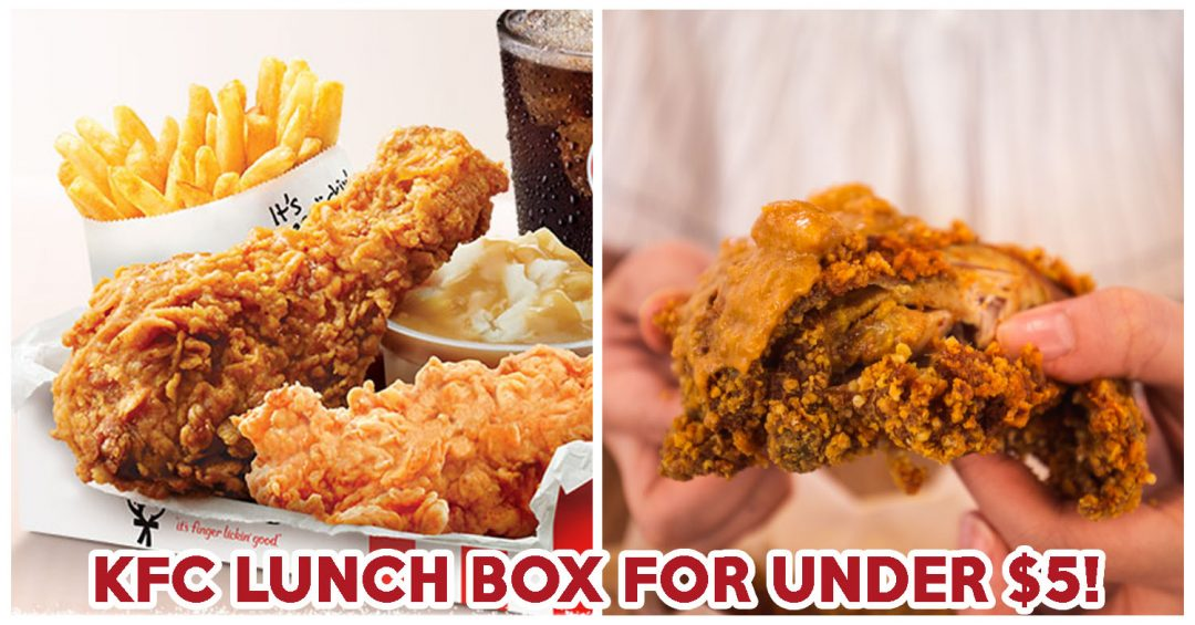 kfc lunch box