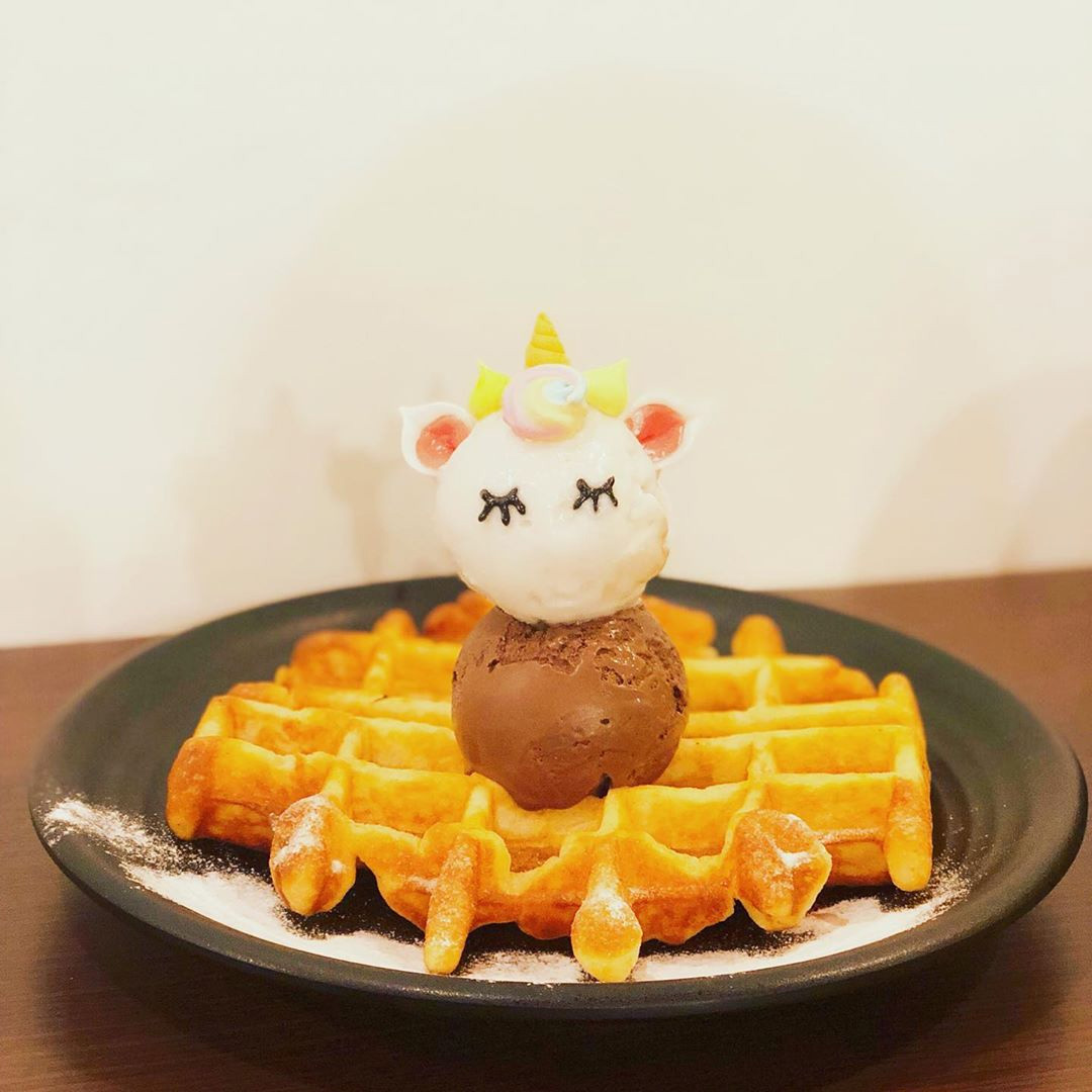 new ice-cream cafes 2019 sir stamford waffles