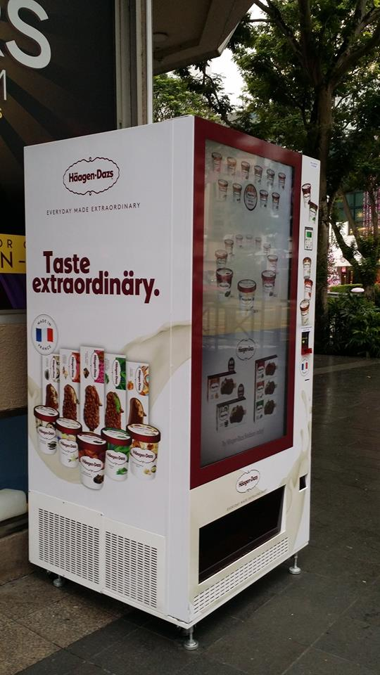 vending machines haagen dazs