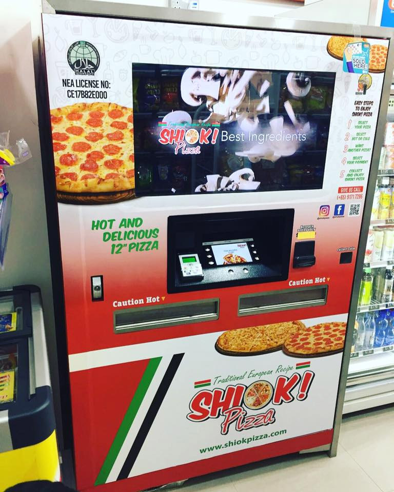 vending machines pizza