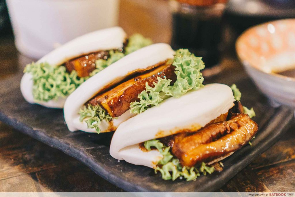 Box n Sticks- Signature Buta Kakuni Buns