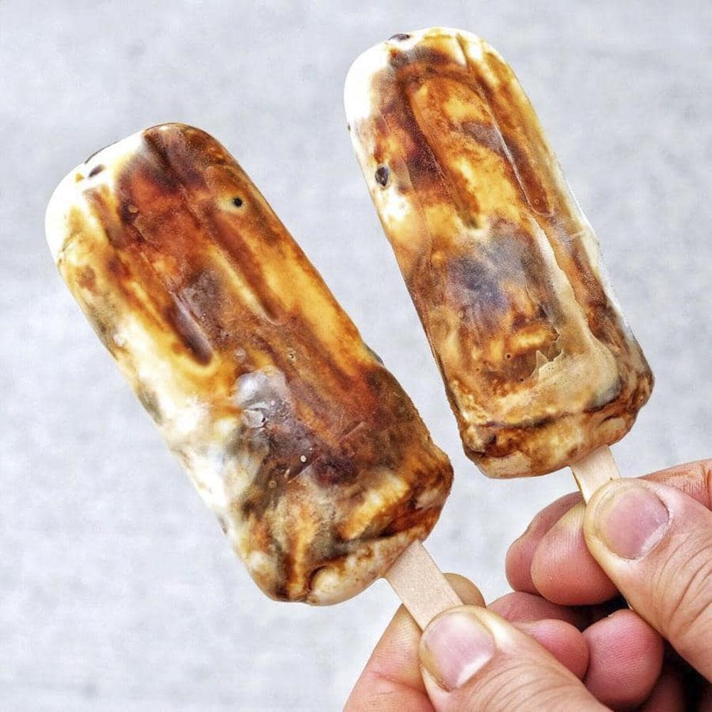 Brown Sugar Milk Ice-cream - Ice-cream