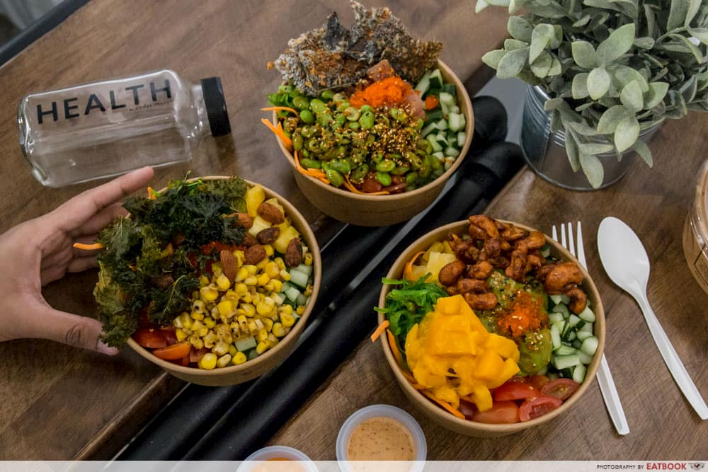 CBD Dining Deals Chope Poke Theory