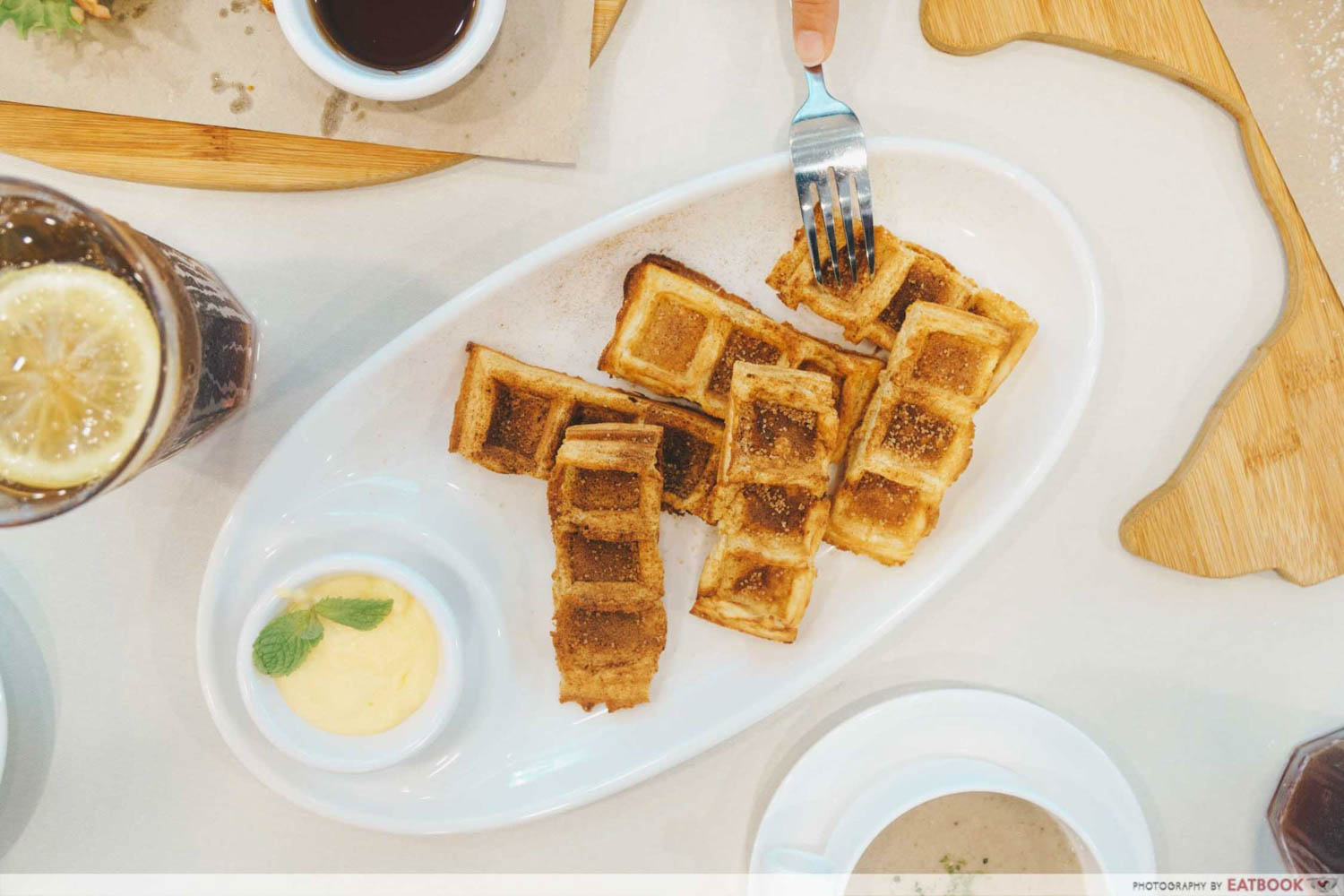 Cluck Cluck - Waffle churros