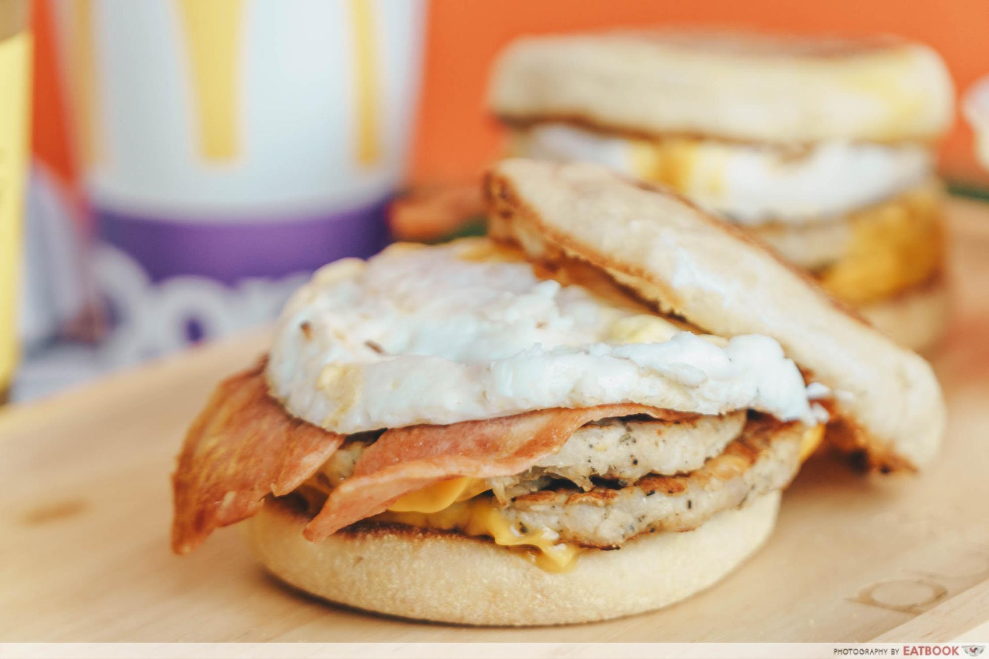 McMuffin Stack - Two Patties