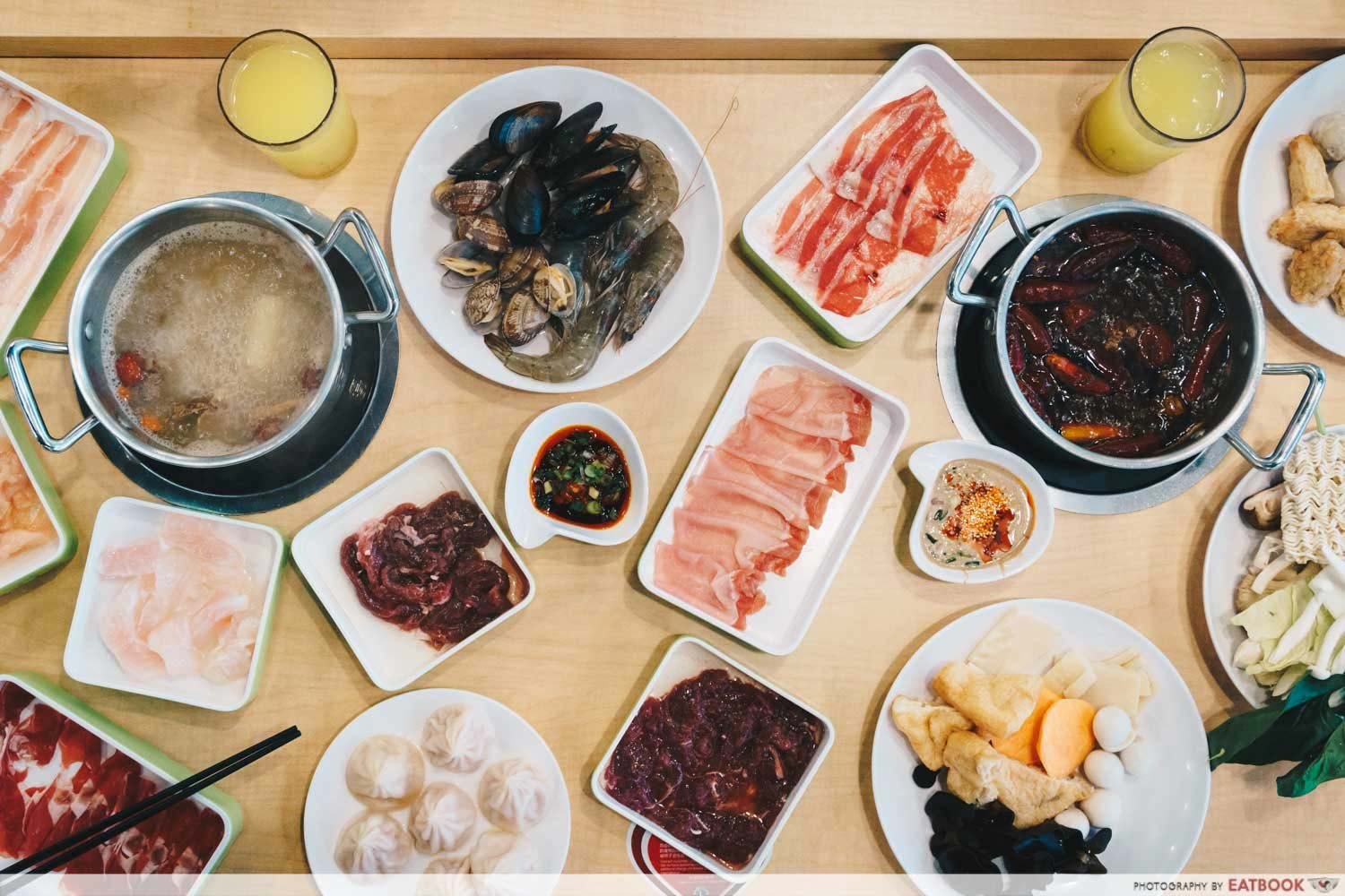 New Restaurant July - Xiao Cai Xiang Steamboat Buffet Selection