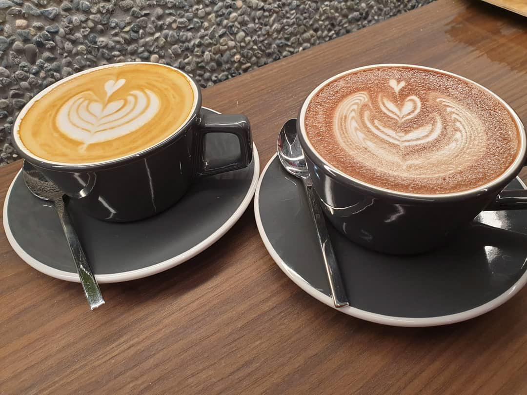 PPP Coffee - White and Mocha