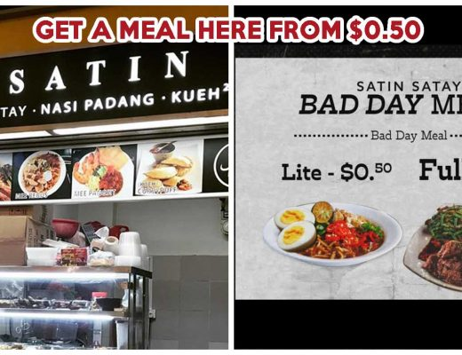 SATIN SATAY BAD DAY MEAL