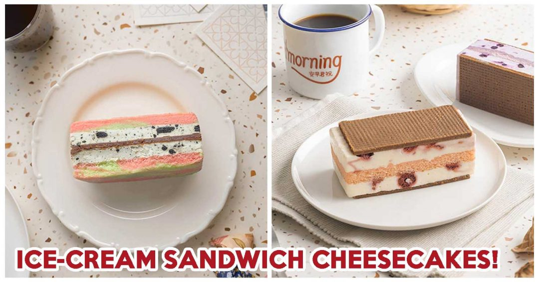 STARBUCKS ICE-CREAM SANDWICH CHEESECAKE