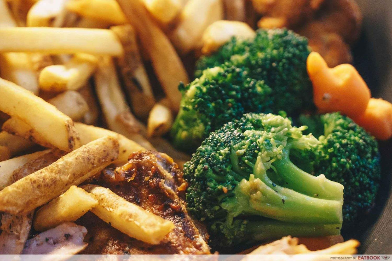 Steak & Bones - Buttered Vegetables