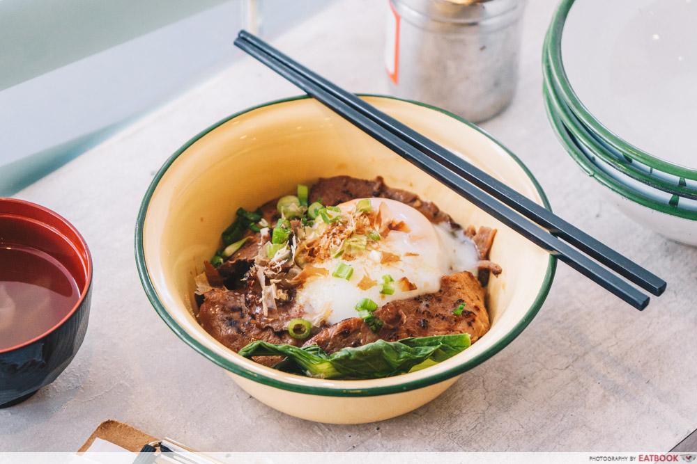 Tie Fun Wan - Beef bowl