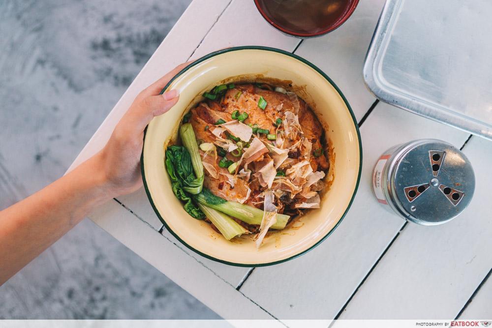 Tie Fun Wan - Mala noodle bowl