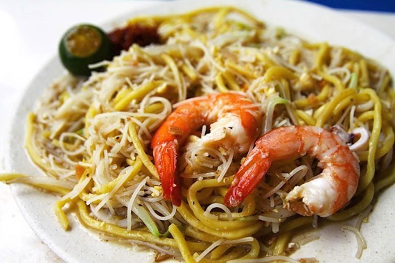 Tiong Bahru History - Hong Heng Fried Sotong Prawn Mee