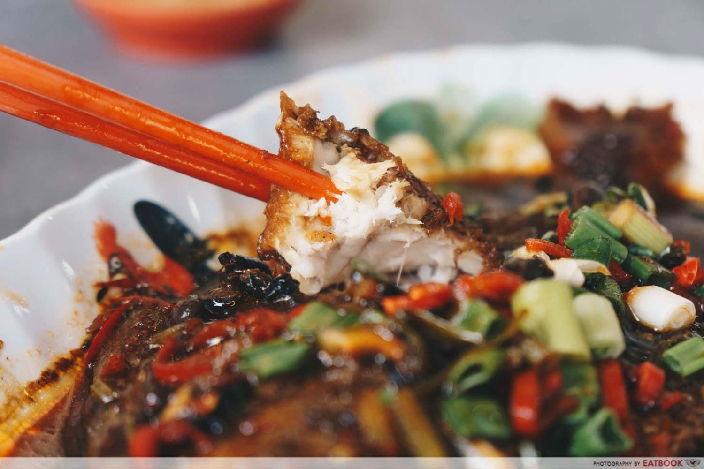 White House Teochew Porridge - Fish meat