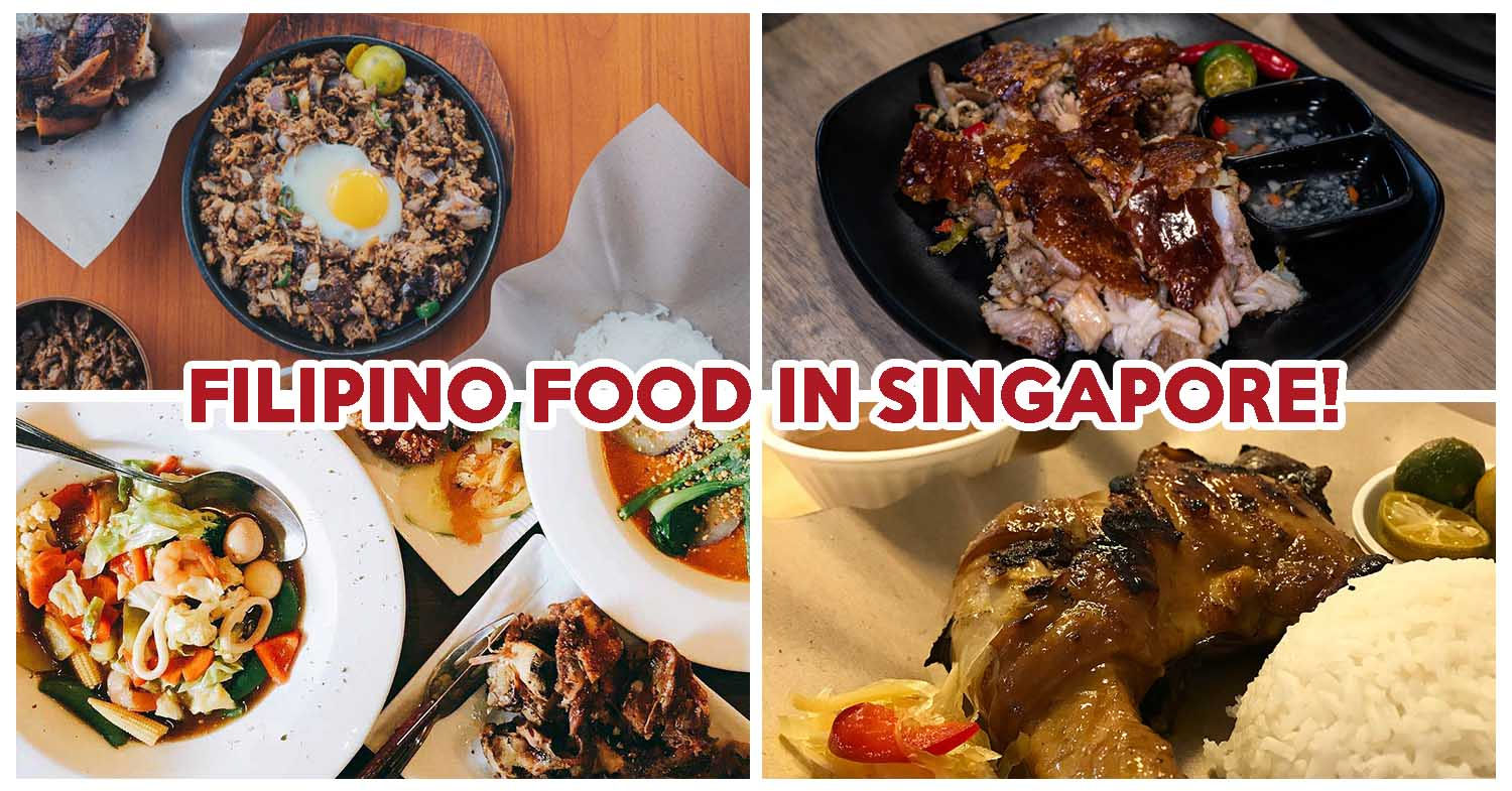 8 Filipino Food Places Serving Crispy Lechon Sisig Adobo And Halo Halo Eatbook Sg New Singapore Restaurant And Street Food Ideas Recommendations