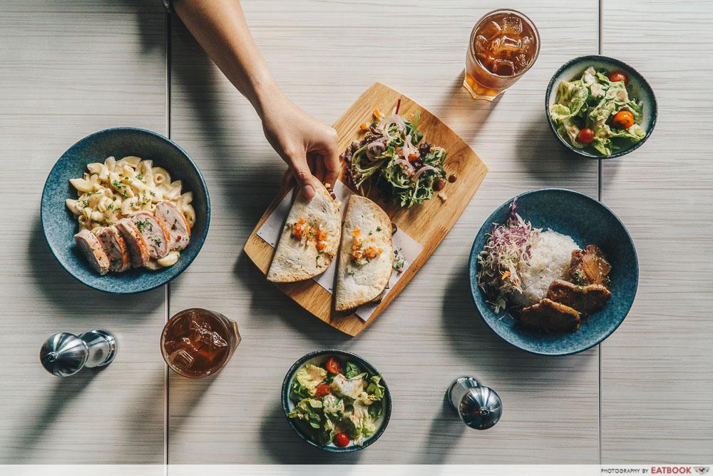 lunch deals in the West 5 Senses Bistro