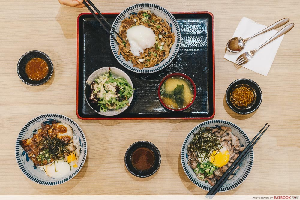 lunch deals in the West Gochi-SoShokudo
