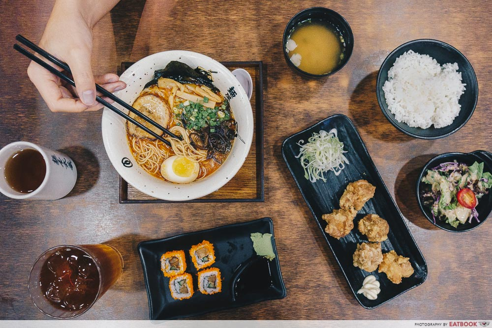 lunch deals in the West Menya Musashi
