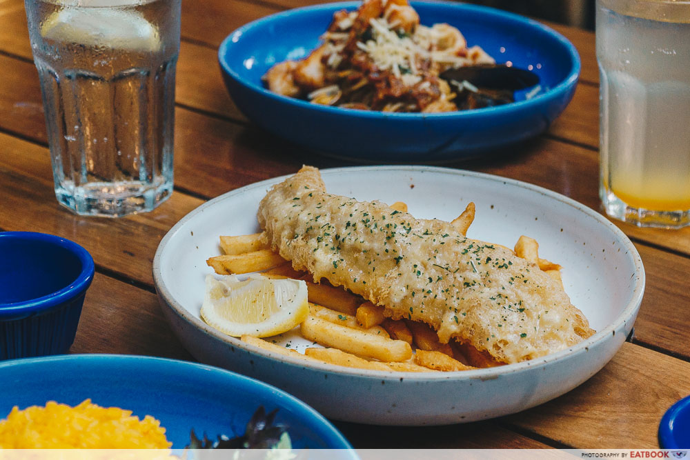 lunch deals in the West fish n co fish and chips