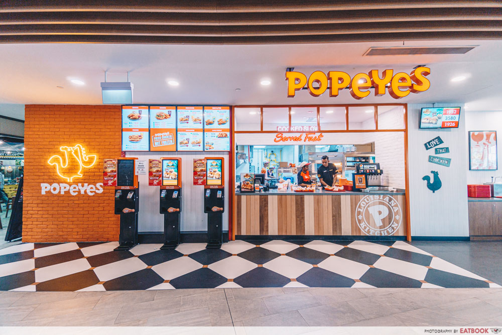 popeyes new outlet store