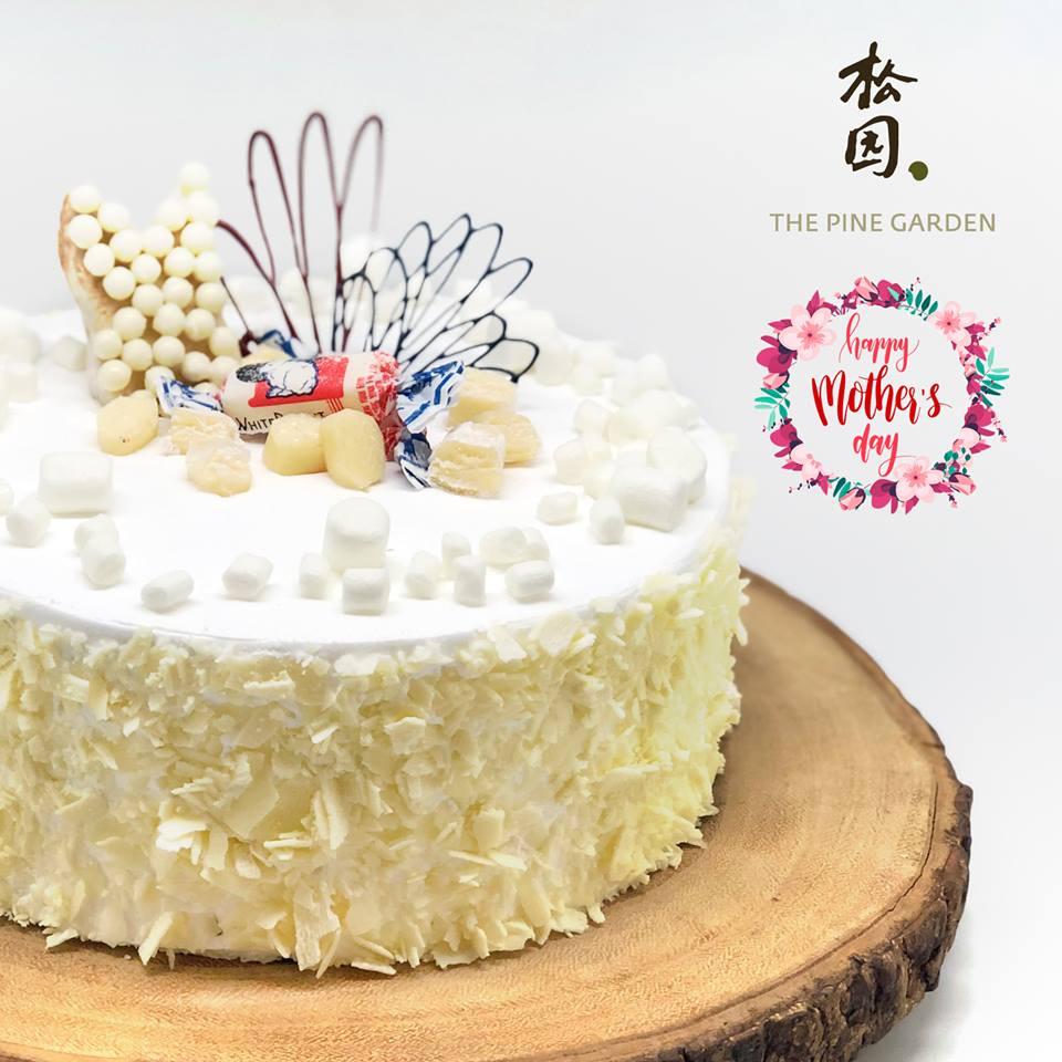 white rabbit cake pine garden