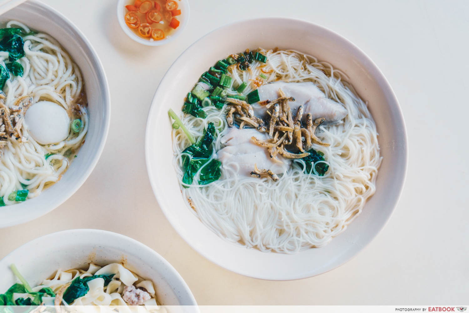 133 Mien Fen Guo - Sliced fish mee sua
