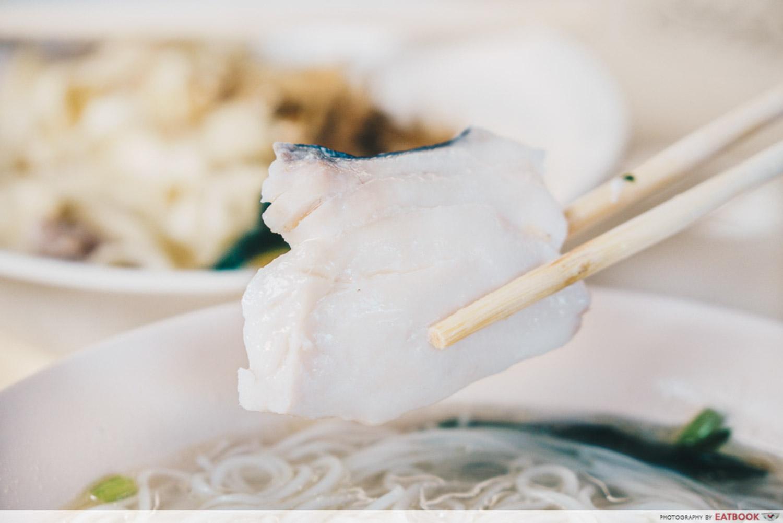 133 Mien Fen Guo - Sliced fish