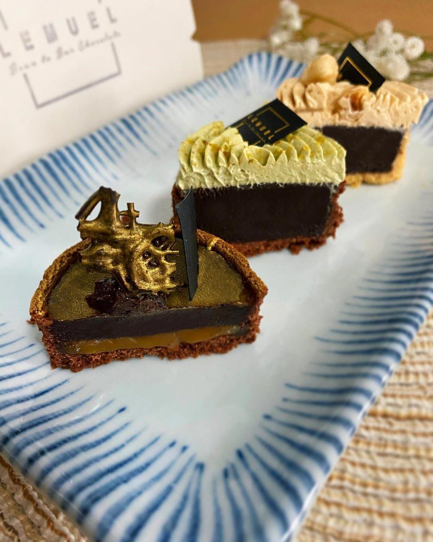 Chocolate Cafe - tarts