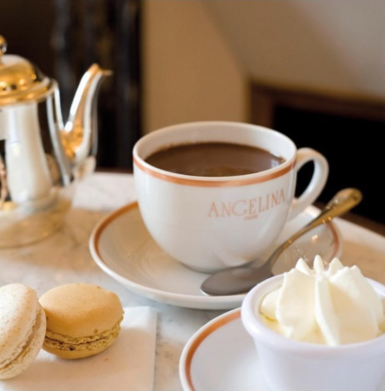 Chocolate cafes - Angelina