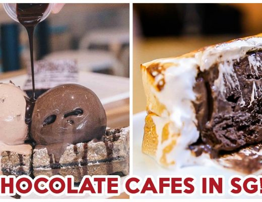 Chocolate cafes in singapore